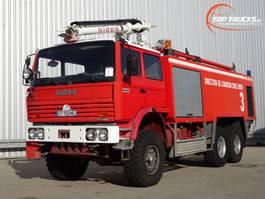 fire truck Renault Thomas Sides VMA 68 6x6 Foam Crash-tender, Airport, Flughaven, Feuerwehr... 1995