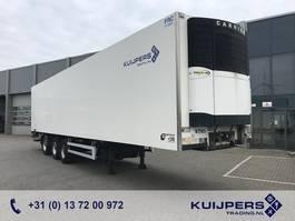 refrigerated semi trailer Van Eck Koeloplegger / 3-Assige / Stuur-As / Carrier / Laadklep 2,5T 2015 2008