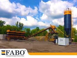 concrete batching plant FABO 75m3/h STATIONARY CONCRETE MIXING PLANT 2021