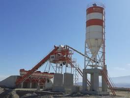 concrete batching plant FABO POWERMIX-90 FIXED CONCRETE MIXING PLANT 2021