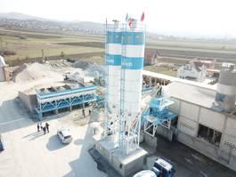 concrete batching plant FABO POWERMIX-100 STATIONARY CONCRETE BATCHING PLANT 2021