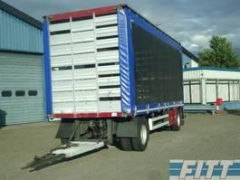 sliding curtain trailer CUPPERS 2008 2ass pluimvee aanhanger icm 2013 FH 460 6X2  pluimvee combi 2008