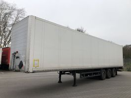 closed box semi trailer Schmitz Cargobull Closed Box | Koffer | FULL CHASSIS | Taillift laadklep 2011