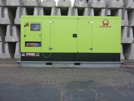 Generator Pramac GSW 145 Iveco - 140 KVA used generator 2015