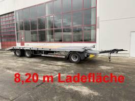 Tieflader Auflieger Möslein T 3-8,20 P OR  3 Achs Tieflader gerader Ladefläche 8,10 m,Neufahrzeug 2021