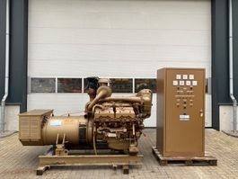 Generator Renault Leroy Somer 300 kVA generatorset ex emergency