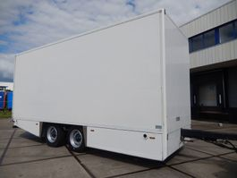 closed box trailer CUPPERS MA 12L 2 As Wipkar Gesloten, WT-TZ-84 2006
