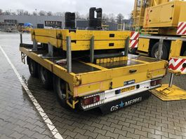 flatbed car trailer GS Meppel Ballast Plattform   Trailer   3 Axle Tandem   AN-2400 2006
