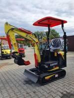 mini digger crawler Kingway Minigraver Kingway Eco 5 1000kg Veiling/Auction/Enchères 2021