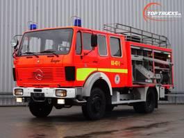 fire truck Mercedes-Benz SK 1019 4x4 - V6 - 4x4 feuerwehr - fire brigade - brandweer - water tank... 1983