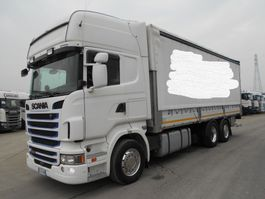 sliding curtain truck Scania R400 LB4X2 4 MNB 2012