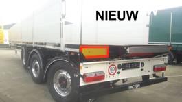 drop side semi trailer Pacton Nieuwe kraanoplegger