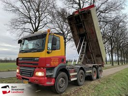container truck DAF FA D CF85 8x4 steelsuspension manual 2007