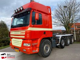 container truck Ginaf X 4243 TS X 4243 TS 8x4 Haakarm manual 2001