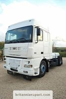 cab over engine DAF XF 95 430 ZF manual retarder euro 3 left hand drive 2005