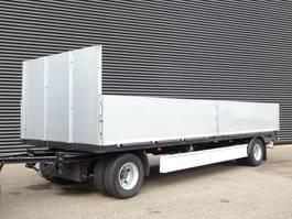 drop side full trailer Fliegl ZPS 180 / BORDEN / MOLEN GESTUURD 2010