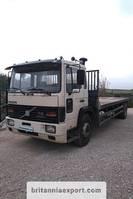 platform truck Volvo FL617 Intercooler 17 ton on springs left hand drive 1990