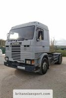 cab over engine Scania R113 M 360 manual hydraulic kit left hand drive. 1990