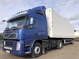 closed box truck Volvo FM 370 + City trailer 2009