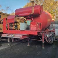 concrete mixer semi trailer Groenewegen mixer 1993