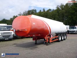 tank semi trailer semi trailer Cobo Fuel tank alu 40.3 m3 / 6 comp 2004