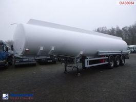 tank semi trailer semi trailer BSL T Fuel tank alu 40.2 m3 / 9 comp ADR VALID 04/2021 1997