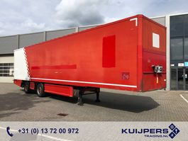 closed box semi trailer Renders 2 as Gestuurd X-steering / Box / Laadklep / APK tot 10-2021 ! 2011