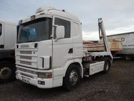 drop side truck Scania 144L 1997
