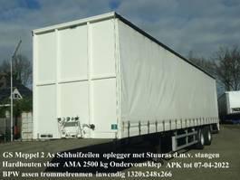 sliding curtain semi trailer GS OTIB 120 2000 2 As Schuiifzeilen Stuuras en Ondervouwklep zeer mooi 1999