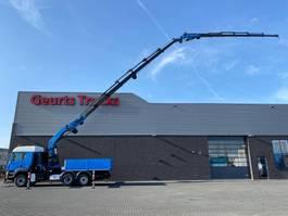crane truck MAN TGA 26 6X4H-2BL + PALFINGER PK 85002 + JIB PJ170 KRAAN/KRAN/CRANE/GRUA 2007