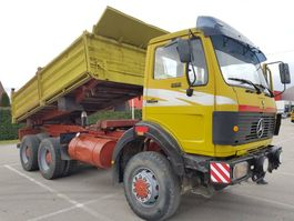 tipper truck > 7.5 t Mercedes-Benz 2628  6x6 1986