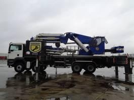 all terrain cranes MAN TGA 41.400 HIDROKON 240 TON 2012