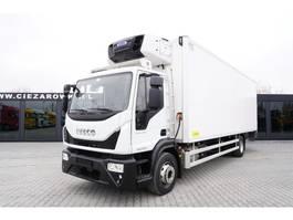 refrigerated truck Iveco EuroCargo 160 160E25 , E6 , 4x2 , PGW16.000kg , 19 EPAL , Carrier , 2016