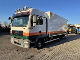 closed box truck MAN TGL 12.220 2012
