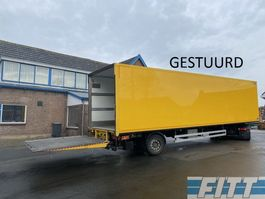 geschlossener Kasten Auflieger Heiwo HZO 21 1as gestuurde gesloten city trailer met achterklep 2014