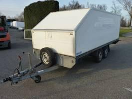 closed box car trailer PP 20 les aanhangwagen enz. 1996