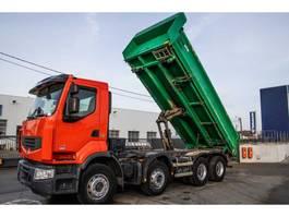 tipper truck > 7.5 t Renault Lander 430 DXI+BIBENNE 2011