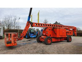 articulated boom lift wheeled Grove AMZ131XT up&over telescoop 40m. werkhoogte