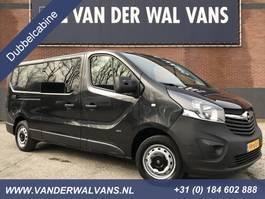 closed lcv Opel Vivaro 1.6 CDTI 120pk L2H1 Dubbele Cabine | Airco Cruise PDC Navi Trekhaak 2015
