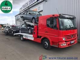 car transporter truck Mercedes-Benz 823 Mersch Doppelstock 4 PKW /3 Transporter 1.Hd 2007