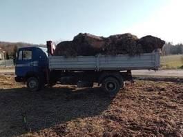 tipper truck > 7.5 t Mercedes-Benz 1220  kipper with crane