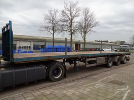 drop side semi trailer Broshuis Double (2x) Extendable till 29,1 M. - 3x Powersteering + Remote control 2002
