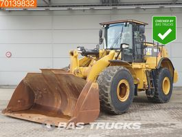 wheel loader Caterpillar 966K WEIGHT SYSTEM 2013