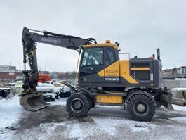 wheeled excavator Volvo EW160E 2015