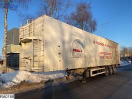 walking floor semi trailer Benalu Walking-floor 92 M3 1997