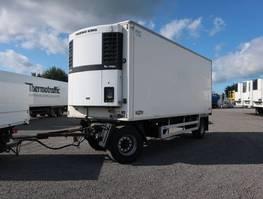 refrigerated semi trailer Chereau TKA 18 mit Chereau Rohrbahn - Aufbau aus 06/07 2007
