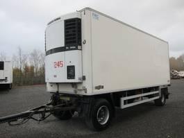 refrigerated semi trailer Chereau TKA 18 System Trailer mit Chereau Rohrbahn Aufbau 2007