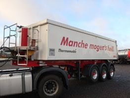tipper semi trailer Langendorf SKA 24/30 24,8 m³ Alu Thermo Asphalt 1.250 mm 2015