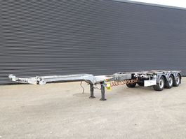 container chassis semi trailer Fliegl SDS420 VARIO / 3 AXLE / EXTENDABLE 2015