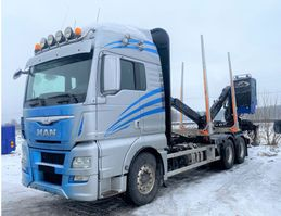 timber truck MAN TGX 26.560 Euro 6, Timber-truck + Epsilon M110, 2015 *Expected* 2015